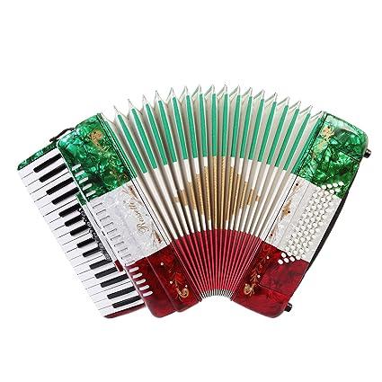 Rossetti Piano Acordeón 60 Bass 34 Teclas De 5 Interruptores