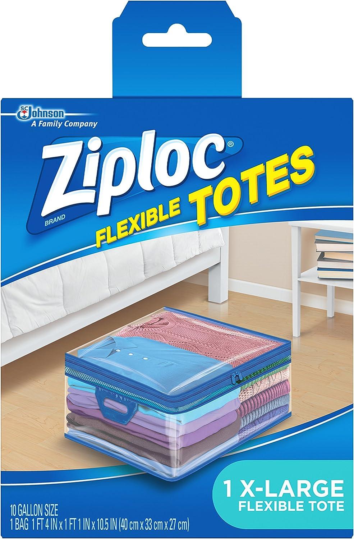 Ziploc Flexible TotesX-Large (Pack of 4)