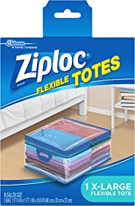 Ziploc Flexible TotesX-Large (Pack of 4)