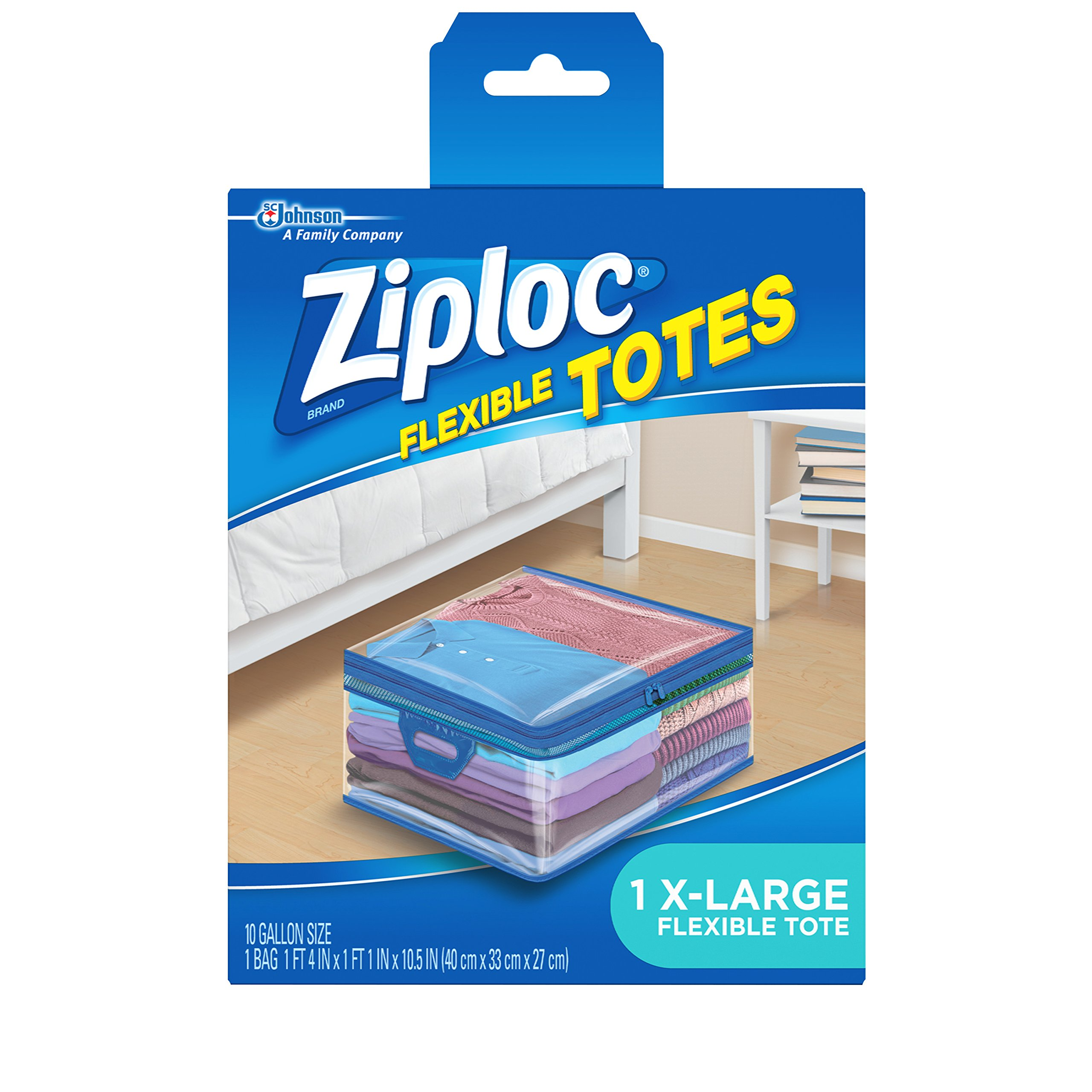 Ziploc Flexible Totes  X-Large (Pack of 4) by Ziploc