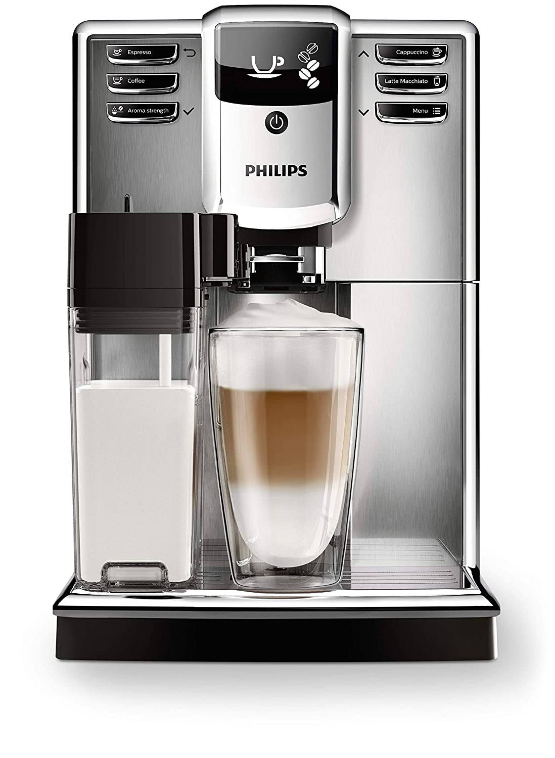 Philips 5000 Series Automatic Coffee Machine Stainless