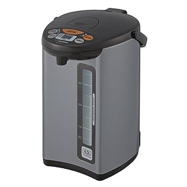 Zojirushi CD-WCC40 Micom Water Boiler & Warmer, Silver