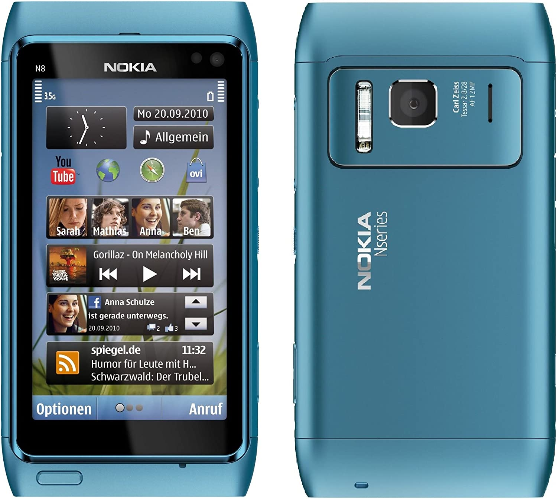 Nokia N8 Azul - Smartphone (8,89 cm (3.5