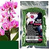 SMEREKA Orchid Food Fertilizer Slow Release (6 Month) Fertilizer, 5oz. Bag Suitable for All Orchid Types