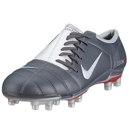 76a8b22147e55 Nike Air Zoom Total Hombres 90 III FG Botas de fútbol gris Graphite White  Talla