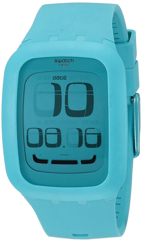 [スウォッチ]SWATCH 腕時計 SWATCH TOUCH BLUE(スウォッチタッチブルー) タッチパネル搭載デジタル SURS100 【正規輸入品】 B0064OIEEU