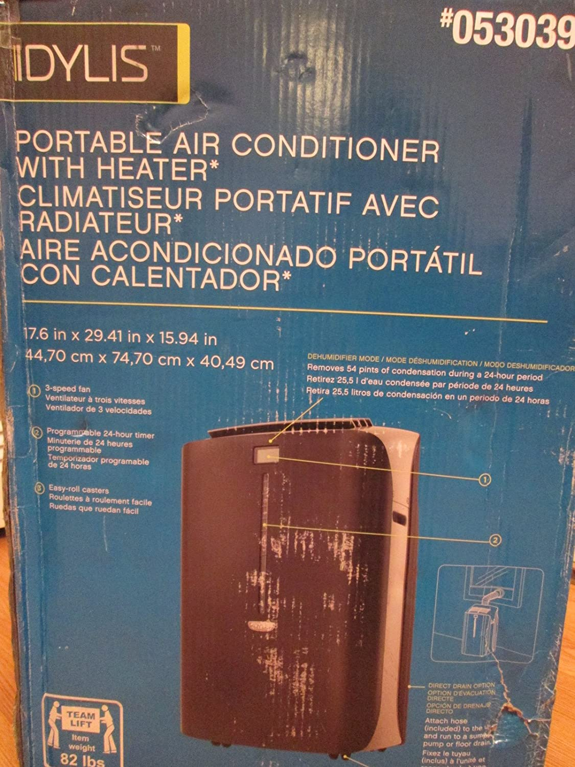 Koolking Portable Air Conditioner Instruction Manual