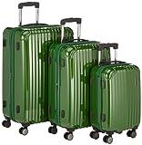 Hauptstadtkoffer Juego de maletas, verde (Verde) - 82860020