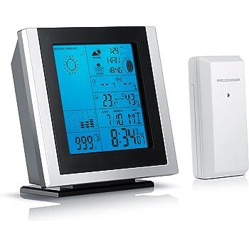 Moderne Wetterstationen stellen weitaus mehr Informationen, als lediglich die Temperatur, bereit .