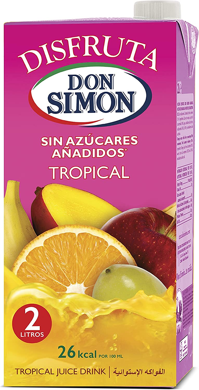 Don Simon Disfruta Tropical - Pack de 6 x 2 l - Total: 12 l ...