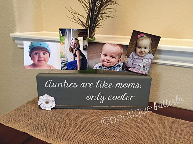handmade wooden picture display custom frames customized colors and quotes photo block