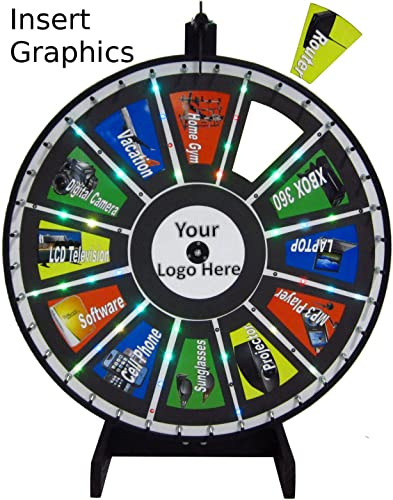 30in Insert Your Own Graphics Prize Wheel