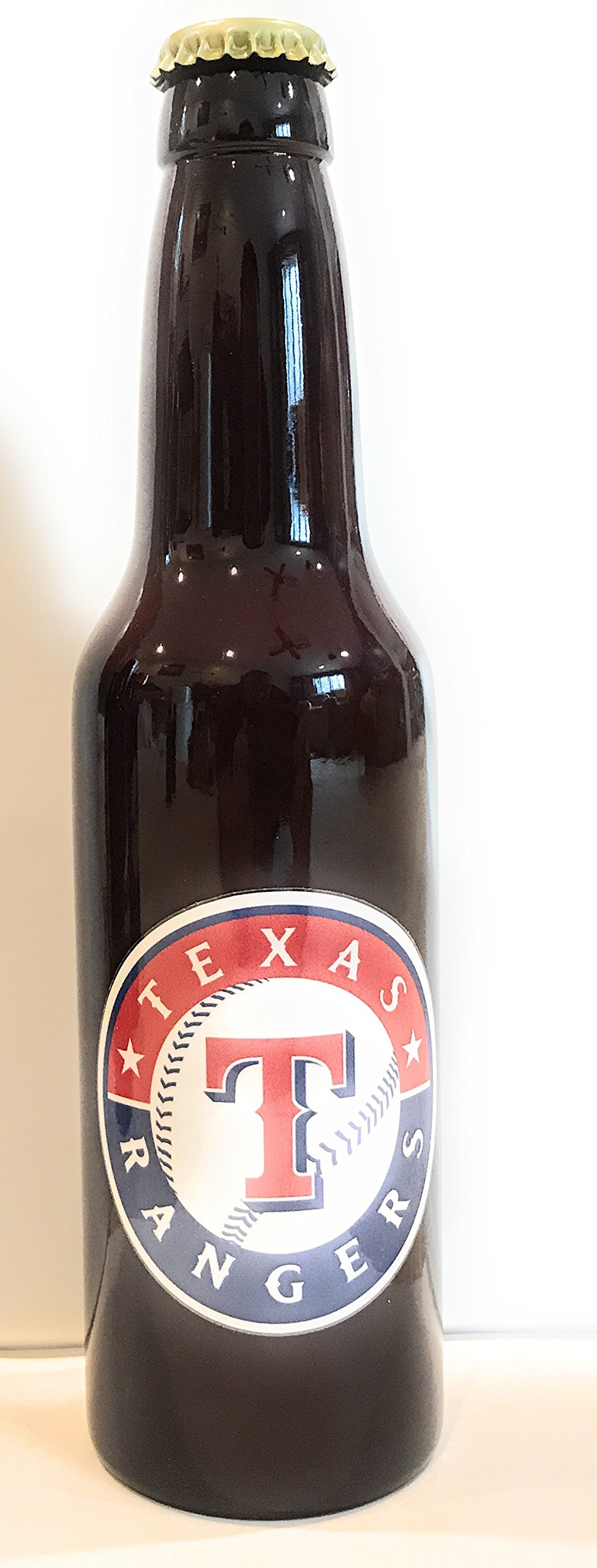 Texas Rangers Tap handle Bottle Style