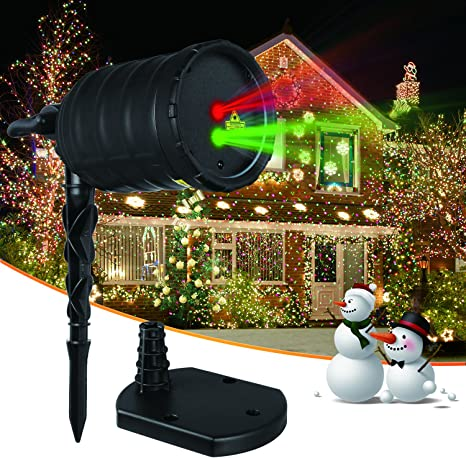 Landscape Christmas Laser Light Show projector Stand indoor,outdoor and Stake