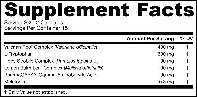 Jarrow Formulas Sleep Optimizer - 30 Caps 30 unidades 40 g ...
