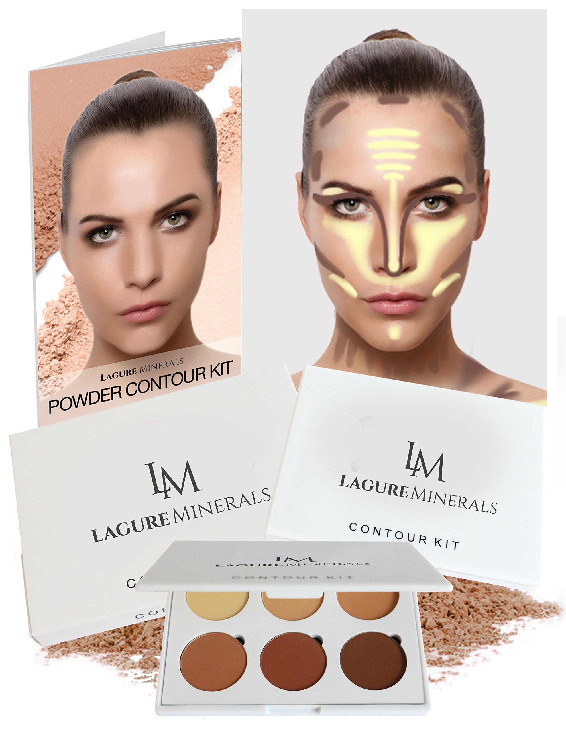 Contour For Less Nyx Cosmetics: Amazon.com: Lagure Premium Kabuki Makeup Brush Set