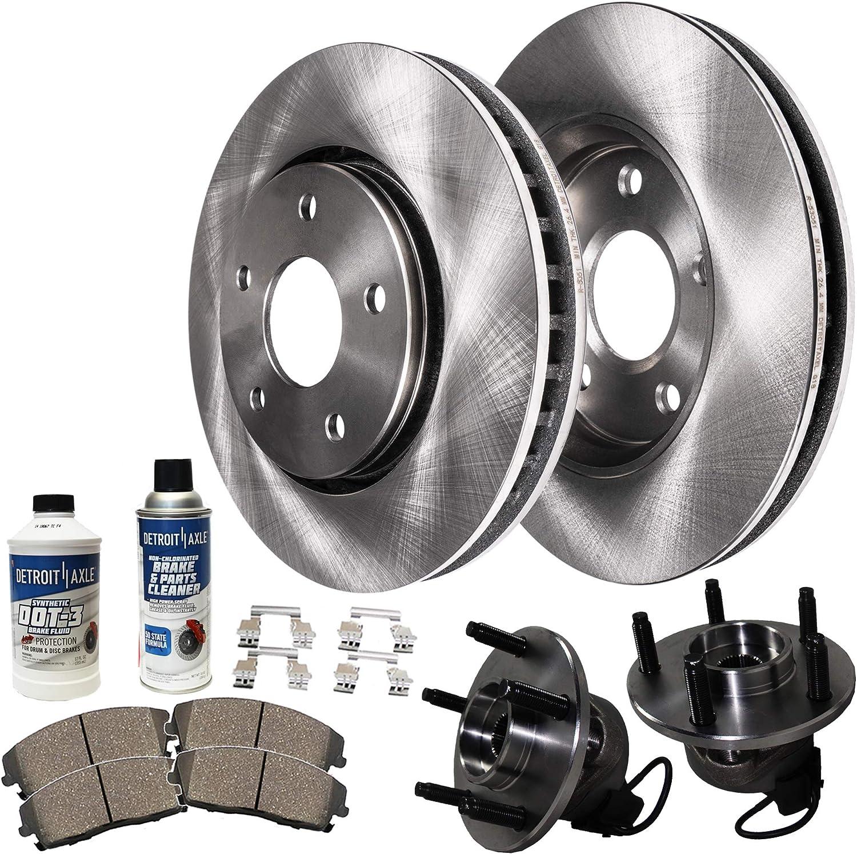 2005 2006 2007 2008 2009 Pontiac G6 OE Replacement Rotors w//Ceramic Pads R