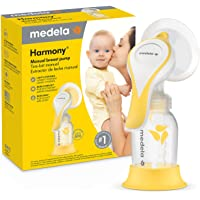 New Medela Harmony Manual Breast Pump, Single Hand Breastpump with Flex Breast Shields for More Comfort and Expressing…