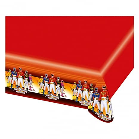 amscan - Cubertería para fiestas Power Rangers (RM552536)