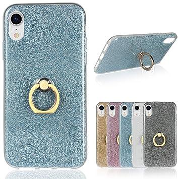 coque iphone xr bague transparent