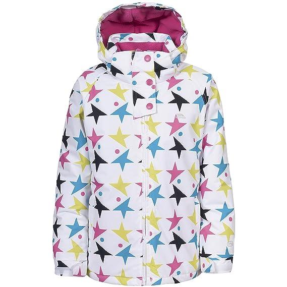 Trespass - Chaqueta / abrigo para la nieve impermeable modelo Frills para niñas (3-