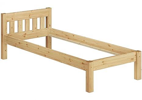 60.38-09 oR Letto singolo 90x200 in legno di pino senza accessori ...