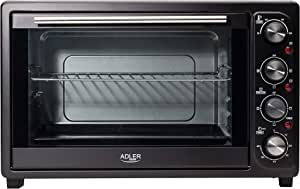 Adler AD 6010 Horno de sobremesa, 2000 W, 45 litros, 0 Decibeles ...