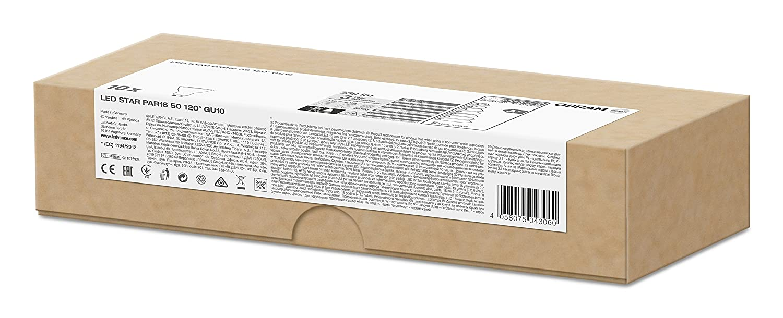 Osram 043060 Bombilla LED GU10, 4.3 W, Blanco, 10 Unidades: Amazon.es: Iluminación