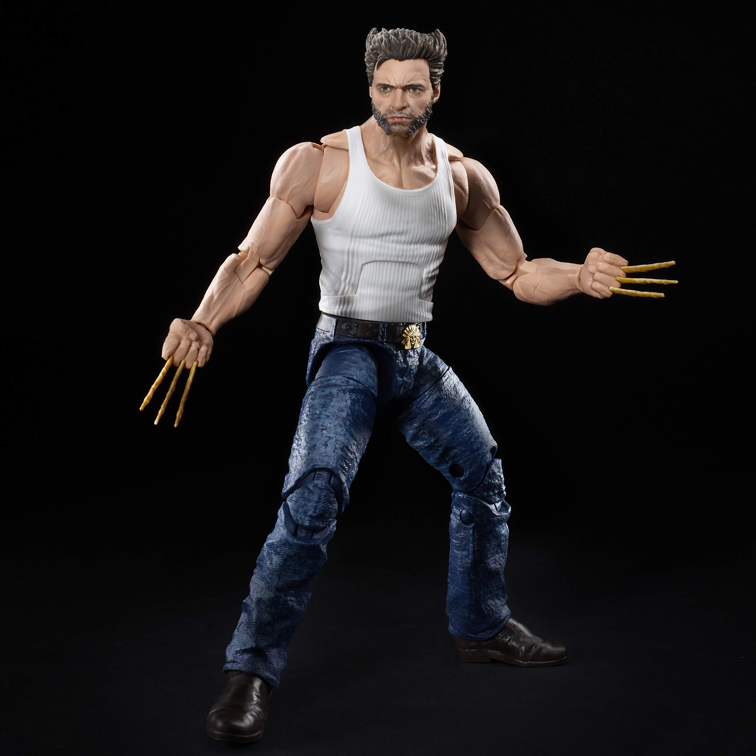 MARVEL Hasbro Legends Series Wolverine 6-inch Collectible Action Figure Toy, Ages 14 And Up
