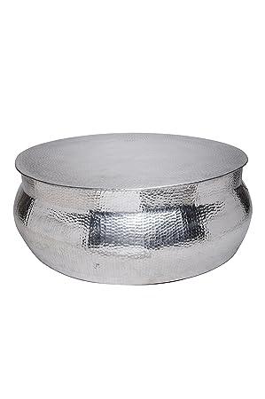 Maades Wohnzimmertisch Couchtisch Rund Modern Aus Metall O 90cm