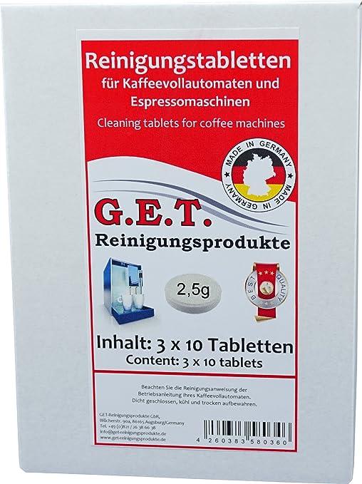 Get Especial pastillas de limpieza 2,5 g 3 x 10 Ampolla para ...