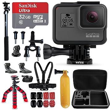 Amazon.com: GoPro Hero5 °Cámara de color negro + Sandisk 32 ...