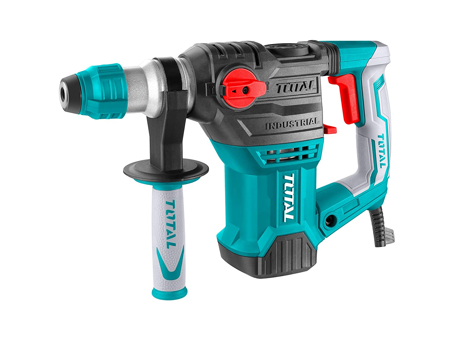MR LIGHT TOTAL Rotary Hammer with 3 Drills and 2 Chisels