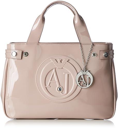 Armani Jeans 922526cc855, Sacs portés main femme - rose - Pink (ROSA ANTICO  00677 86611826d43