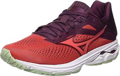 Mizuno Wave Rider 23, Zapatillas de Running Mujer: Amazon.es: Zapatos y complementos
