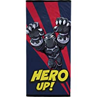Marvel Super Hero Adventures Take Flight Kids Bath/Pool/Beach Towel - Featuring Black Panther - Super Soft & Absorbent Fade Resistant Cotton Towel, Measures 28 inch x 58 inch (Official Marvel Product)