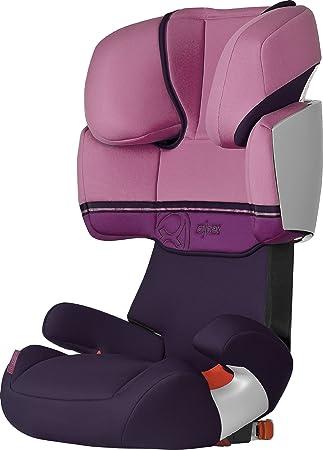 CYBEX SOLUTION X FIX Kindersitz 15 36 kg Pink Violett mit