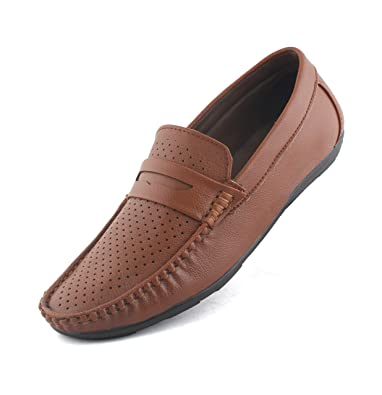 6bf712c3117 Redfoot Men s Leather Loafer  Buy Online at Low Prices in India - Amazon.in