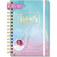 Häfft-Timer 2021/2022 A5 [Cali Kessy Edition] Schüler-Kalender, Schüler-Planer, Schulplaner, Semesterplaner für…