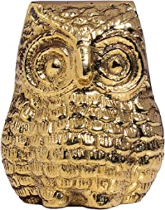 Hashcart Decorative Antique Owl Statue | Figurine for Table Decor, Gift, Office