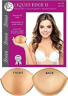 Braza Liquid Edge 2 - Breast Enhancement Bra Insert Push Up Pads - Size A/