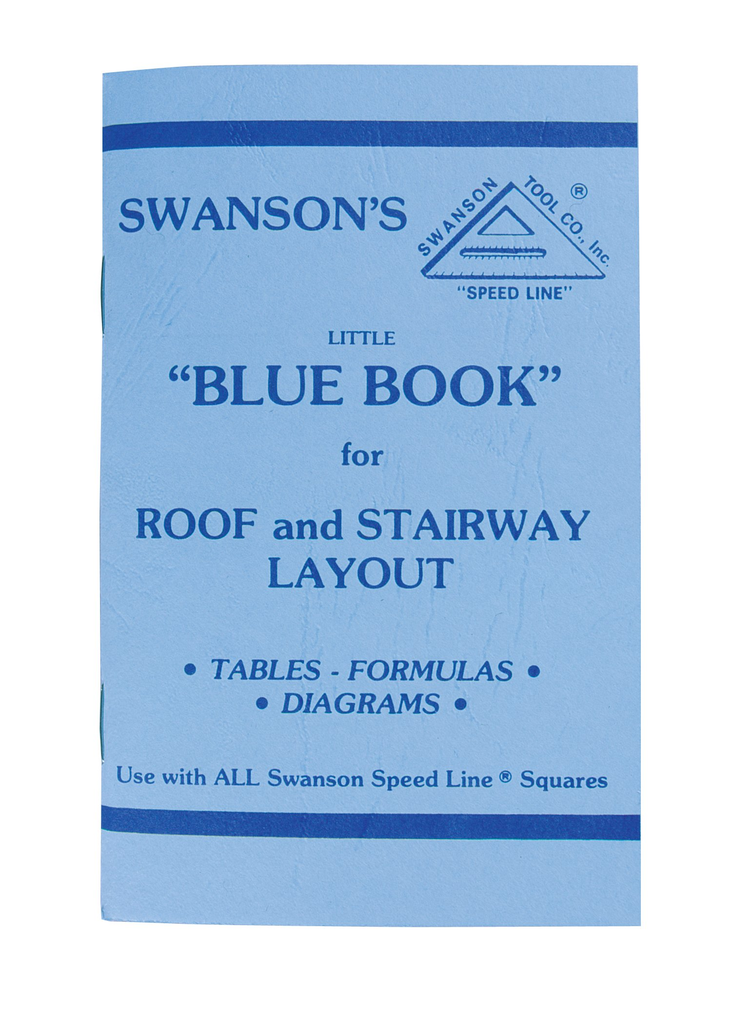 Swanson SW1201K 7'' & Big 12'' Speed Square Layout Tool Kit without Layout Bar