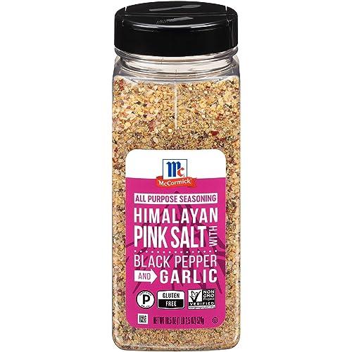 McCormick Himalayan Pink Salt with Black Pepper and Garlic All Purpose Seasoning