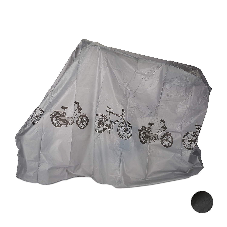Relaxdays Funda para bicicleta, Funda protectora, Protección solar ...