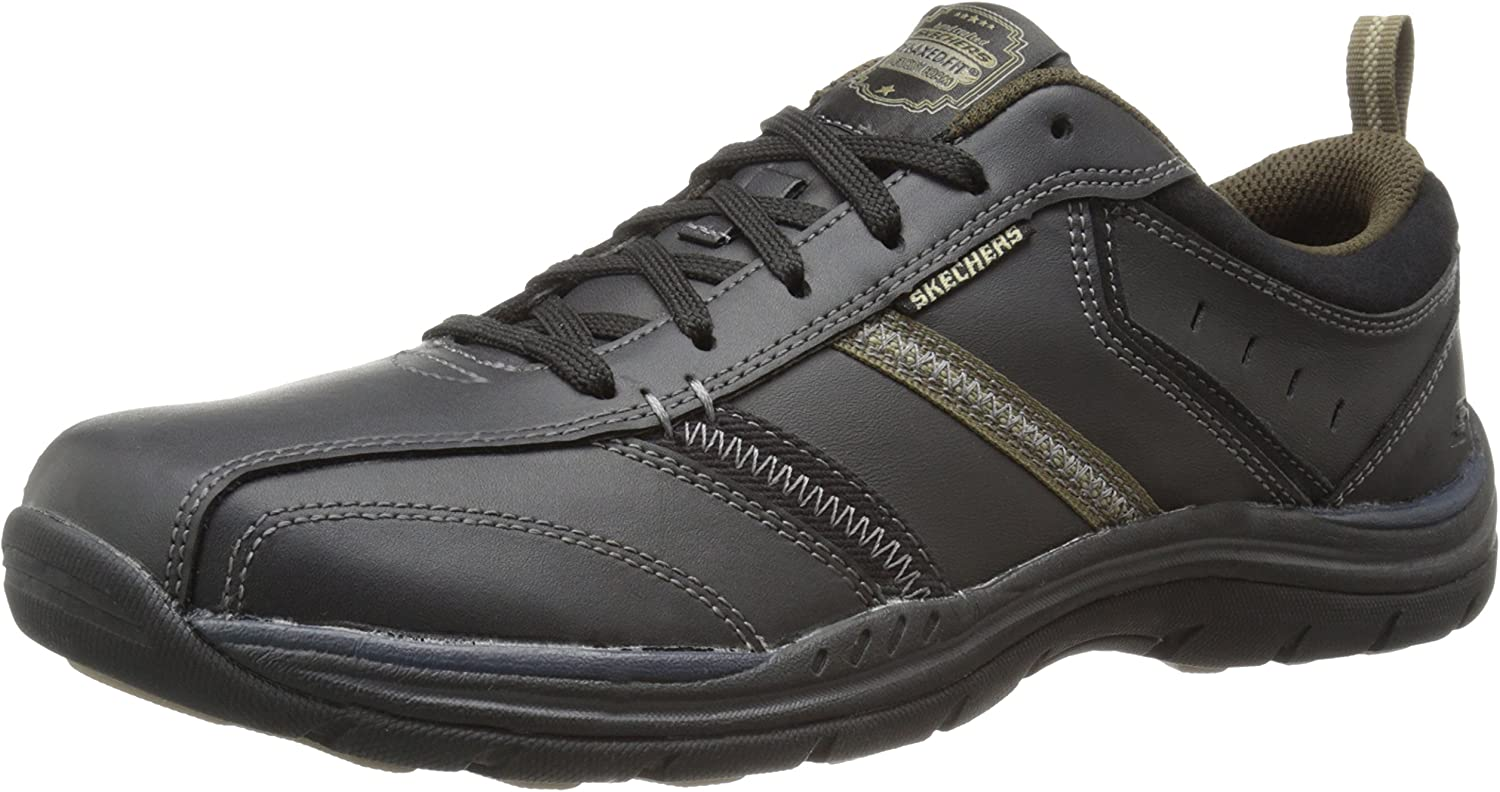 Skechers USA Men's Expected Devention Oxford