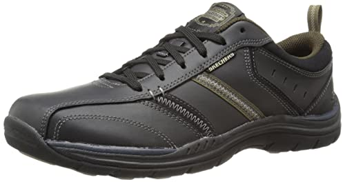 f4362232e812f Skechers Men's Relaxed Fit: Expected - Devention Shoes, Black (Black (BKTN)