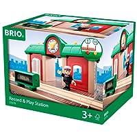 BRIO World 33578 - Sprechender Bahnhof