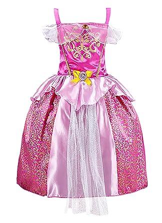 Kleid pink karneval