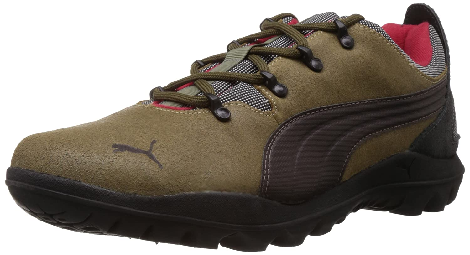 Puma Men's Silicis Low Brown Leather