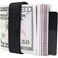 Money Bands (Set of 4) - Minimalist Wallet - Slim Card Holder - Silicone Bands - Wallet Alternative